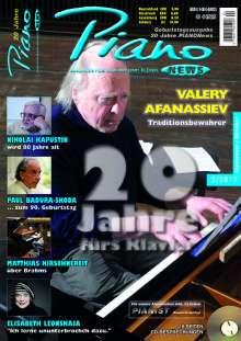 Zeitschriften: PIANONews - Magazin für Klavier & Flügel (Heft 5/2017), Zeitschrift