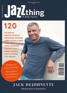 Zeitschriften: JAZZthing - Magazin für Jazz (120) September/Oktober 2017, Zeitschrift
