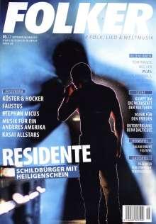 Zeitschriften: Folker - Magazin für Folk, Lied & Weltmusik September - Oktober 2017, Zeitschrift