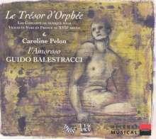 Le Tresor d'Orphee - Le Concerts de Musique, CD