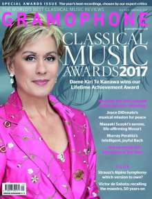 Zeitschriften: Gramophone CLASSICAL MUSIC AWARDS 2017 , Zeitschrift