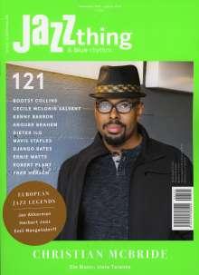 Zeitschriften: JAZZthing - Magazin für Jazz (121) November 2017 - Januar 2018, Zeitschrift