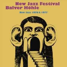 New Jazz Festival Balver Höhle - New Jazz 1976 & 1977, 8 CDs