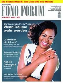 Zeitschriften: FonoForum Dezember 2017, Zeitschrift
