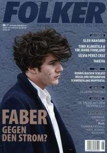 Zeitschriften: Folker - Magazin für Folk, Lied & Weltmusik November - Dezember 2017, Zeitschrift