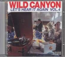Wild Canyon: Let's Hear It Again Vol. 4, CD