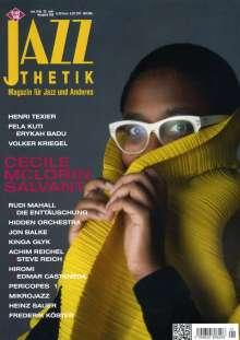 Zeitschriften: Jazzthetik - Magazin für Jazz und Anderes Januar/Februar 2018, Zeitschrift