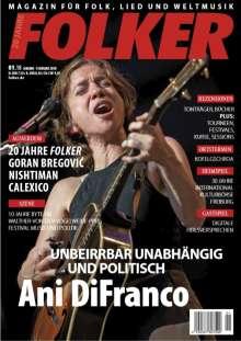 Zeitschriften: Folker - Magazin für Folk, Lied & Weltmusik Januar - Februar 2018, Zeitschrift