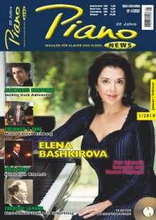 Zeitschriften: PIANONews - Magazin für Klavier & Flügel (Heft 1/2018), Zeitschrift