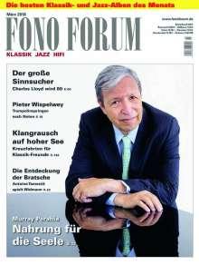 Zeitschriften: FonoForum März 2018, Zeitschrift