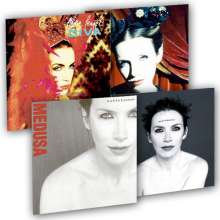 Annie Lennox: Bundle: Diva & Medusa (180g) (Limited-Edition) (inkl. Art Prints, exklusiv für jpc), LP