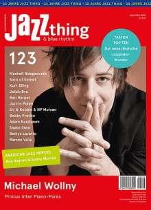 Zeitschriften: JAZZthing - Magazin für Jazz (123) April/Mai 2018, Zeitschrift