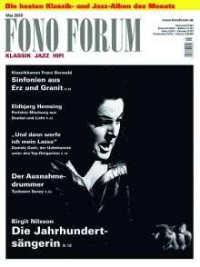 Zeitschriften: FonoForum Mai 2018, Zeitschrift