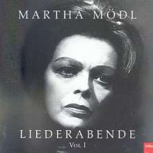 Martha Mödl - Liederabend Vol.1, CD