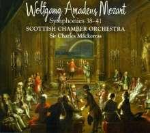 Wolfgang Amadeus Mozart (1756-1791): Symphonien Nr.38-41, 2 SACDs