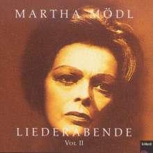 Martha Mödl - Liederabend Vol.2, CD