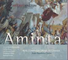 Antonio Mazzoni (1717-1785): Aminta, 2 CDs
