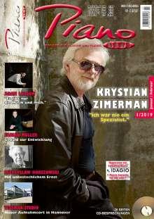 Zeitschriften: PIANONews - Magazin für Klavier & Flügel (Heft 1/2019), Zeitschrift