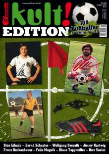 """Zeitschriften: kult! EDITION NR. 4 """"100 Fussballer - Bundesliga '63 - '89"""", Zeitschrift"""