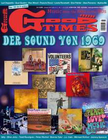 Zeitschriften: GoodTimes - Music from the 60s to the 80s April/Mai 2019, Zeitschrift