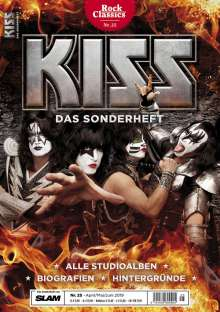 Zeitschriften: ROCK CLASSICS - Sonderheft 25: KISS, Zeitschrift