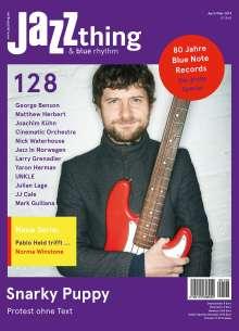 Zeitschriften: JAZZthing - Magazin für Jazz (128) April/Mai 2019, Zeitschrift