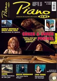 Zeitschriften: PIANONews - Magazin für Klavier & Flügel (Heft 3/2019), Zeitschrift