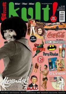 Zeitschriften: kult! 20 (by GoodTimes) 60er ° 70er ° 80er, Zeitschrift