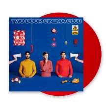 Two Door Cinema Club: False Alarm (Limited-Edition) (Red Vinyl) (+ Stofftasche) (exklusiv für jpc!), LP