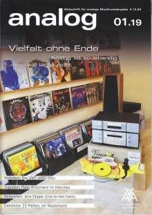 Zeitschriften: analog - Zeitschrift für analoge Musikwiedergabe 01/19, Zeitschrift