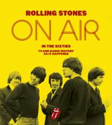 Richard Havers: The Rolling Stones - On Air in the 60s (Sonderposten), Buch