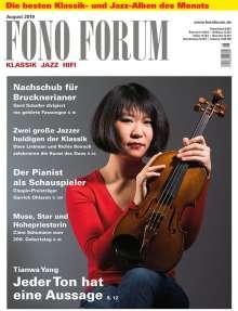 Zeitschriften: FonoForum August 2019, Zeitschrift