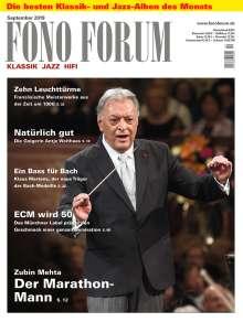 Zeitschriften: FonoForum September 2019, Zeitschrift