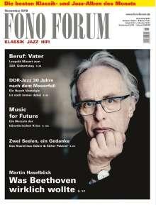 Zeitschriften: FonoForum November 2019, Zeitschrift