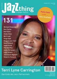 Zeitschriften: JAZZthing - Magazin für Jazz (131) November 2019 - Januar 2020, Zeitschrift
