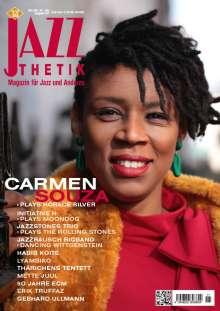 Zeitschriften: Jazzthetik - Magazin für Jazz und Anderes November/Dezember 2019, Zeitschrift