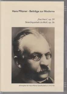 Hans Pfitzner (1869-1949): Das Herz op.39, DVD