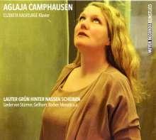 Aglaja Camphausen: Lauter grün hinter nassen Scheiben (signiert), CD