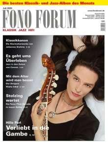 Zeitschriften: FonoForum Juli 2020, Zeitschrift