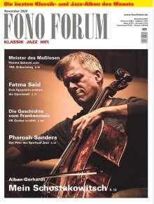 Zeitschriften: FonoForum November 2020, Zeitschrift