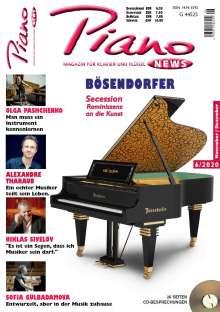 Zeitschriften: PIANONews - Magazin für Klavier & Flügel (Heft 6/2020), Zeitschrift