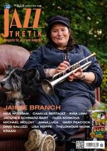 Zeitschriften: Jazzthetik - Magazin für Jazz und Anderes November/Dezember 2020, Zeitschrift