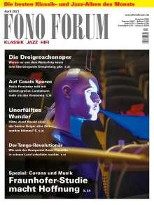 Zeitschriften: FonoForum April 2021, Zeitschrift
