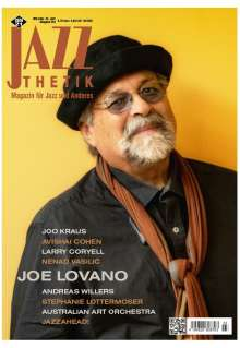 Zeitschriften: Jazzthetik - Magazin für Jazz und Anderes März/April 2021, Zeitschrift