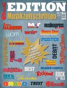 Zeitschriften: GoodTimes - Edition Musikzeitschriften Nr. 3 - 1/2021, Zeitschrift
