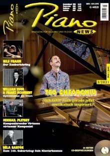 Zeitschriften: PIANONews - Magazin für Klavier & Flügel (Heft 3/2021), Zeitschrift