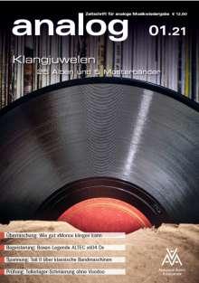 Zeitschriften: analog - Zeitschrift für analoge Musikwiedergabe 01/21, Zeitschrift