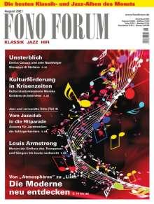 Zeitschriften: FonoForum August 2021, Zeitschrift