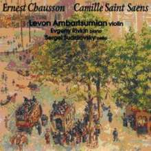 Ernest Chausson (1855-1899): Konzert für Klavier, Violine & Streichquart.op.21 (arr. für Violine & Kammerorchester), CD