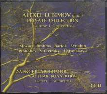 "Alexei Lubimov - Anthology ""Private collection"" Vol.1 (Concertos), 3 CDs"
